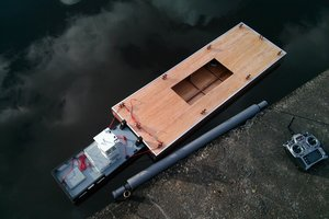 Plywood Barge